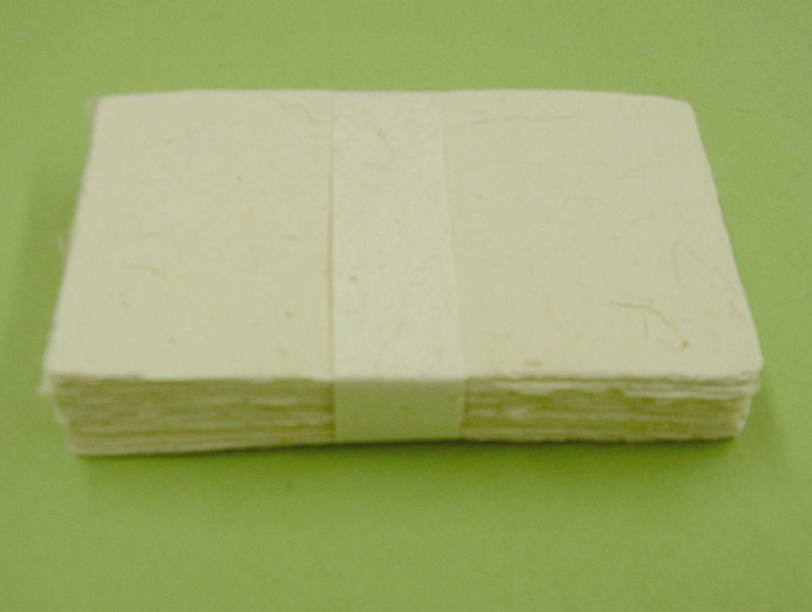 画像1: 手漉き月桃紙 名刺